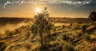 23627392603790670-310x165 دعای طلب حاجات و برآورده شدن امورات مجرب و عظیم