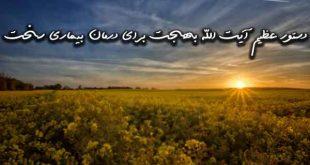 2836073962973-310x165 دستور عظیم آیت الله بهجت برای درمان بیماری صعب العلاج