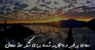 028370638026206873-310x165 دعای پرخیر و تجربه شده برای شکر الله متعال