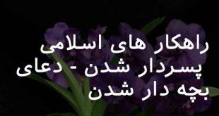 0360836278362073-310x165 راهکار های اسلامی پسردار شدن - دعای بچه دار شدن